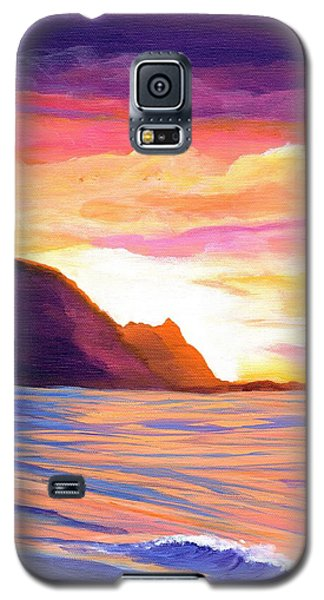 Makana Sunset Galaxy S5 Case by Marionette Taboniar