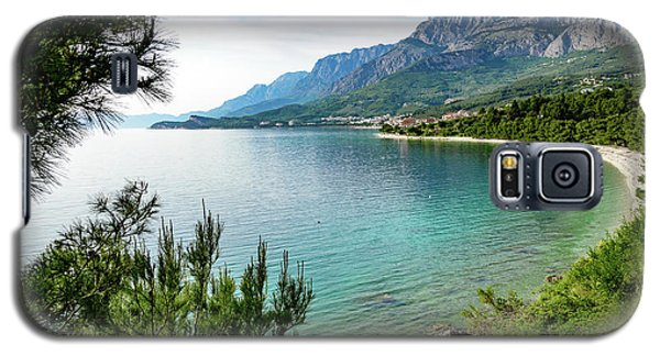 Makarska Riviera White Stone Beach, Dalmatian Coast, Croatia Galaxy S5 Case
