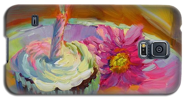 Galaxy S5 Case featuring the painting Make A Wish by Chris Brandley