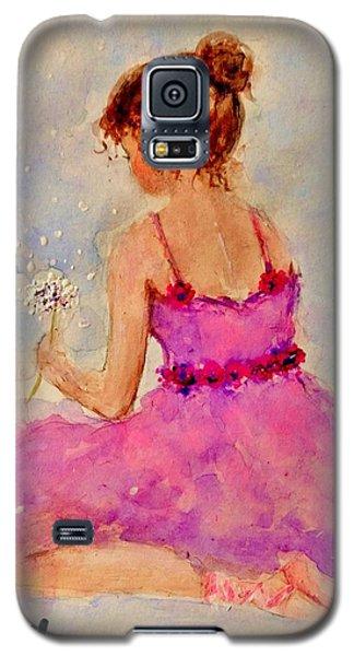 Make A Wish..16 Galaxy S5 Case by Cristina Mihailescu