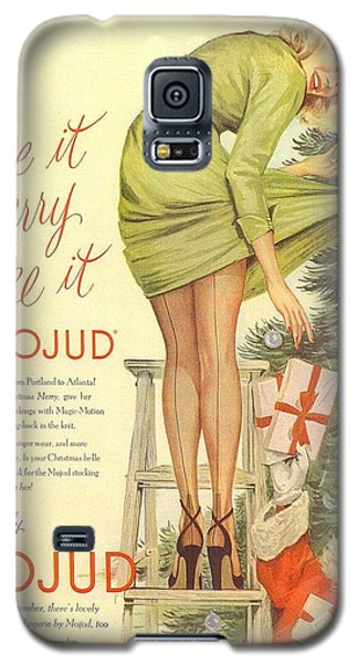 Make It Merry...make It Mojud Galaxy S5 Case