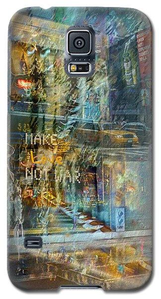 Make Love Not War Galaxy S5 Case