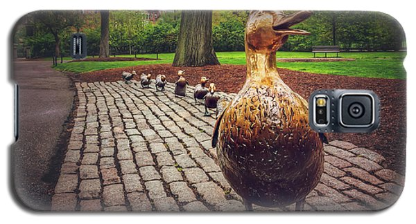 Make Way For Ducklings In Boston  Galaxy S5 Case by Carol Japp
