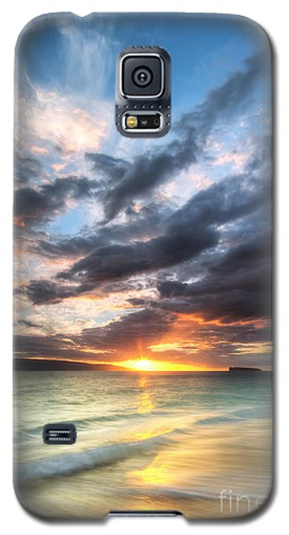 Makena Beach Maui Hawaii Sunset Galaxy S5 Case