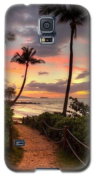 Makena Sunset Path Galaxy S5 Case