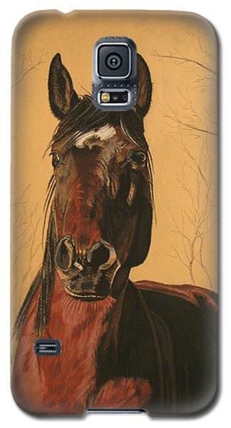 Galaxy S5 Case featuring the pastel Maki by Melita Safran