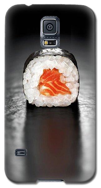 Salmon Galaxy S5 Case - Maki Sushi Roll With Salmon by Johan Swanepoel