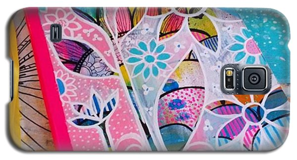 Galaxy S5 Case - Making #meadori Style #artjournals by Robin Mead