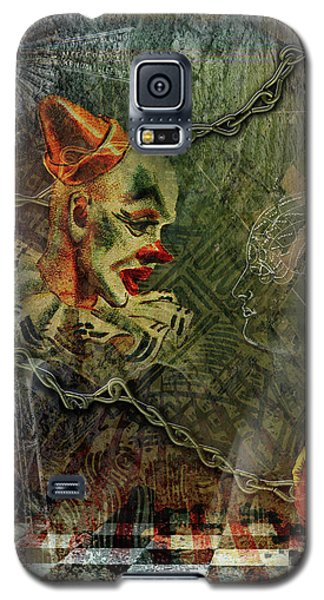 Making Of A Clown Galaxy S5 Case
