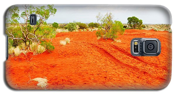 Making Tracks In The Dunes - Red Centre Australia Galaxy S5 Case