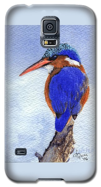 Malachite Kingfisher Galaxy S5 Case