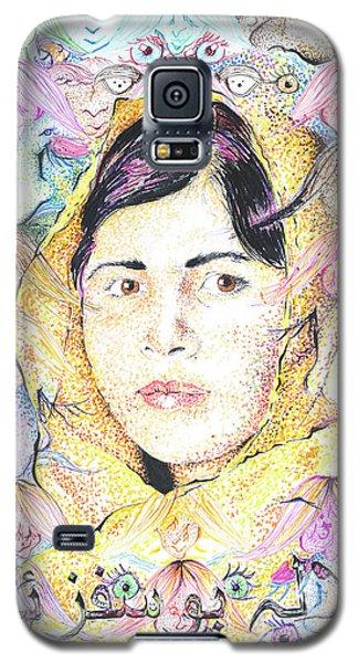 Malala-don't Ignore Us-sombra De Arreguin Galaxy S5 Case
