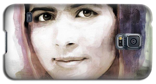Malala Yousaf Zai 10 Galaxy S5 Case