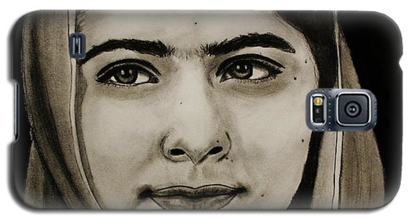Malala Yousafzai- Teen Hero Galaxy S5 Case by Michael Cross