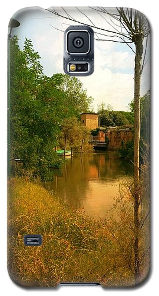 Galaxy S5 Case featuring the photograph Malamocco Canal No2 by Anne Kotan