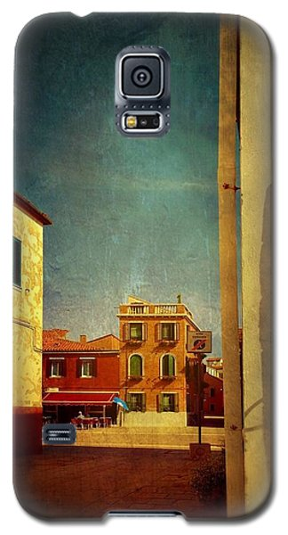 Galaxy S5 Case featuring the photograph Malamocco Glimpse No1 by Anne Kotan