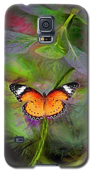 Malay Lacewing  What A Great Place Galaxy S5 Case by James Steele