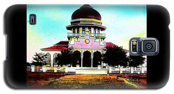 Malay Mosque Singapore Circa 1910 Galaxy S5 Case by Peter Gumaer Ogden