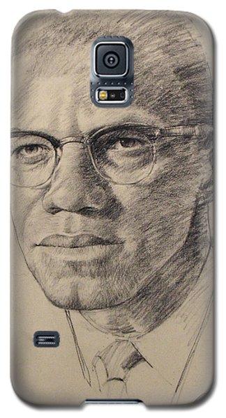 Malcolm X Galaxy S5 Case by Cliff Spohn