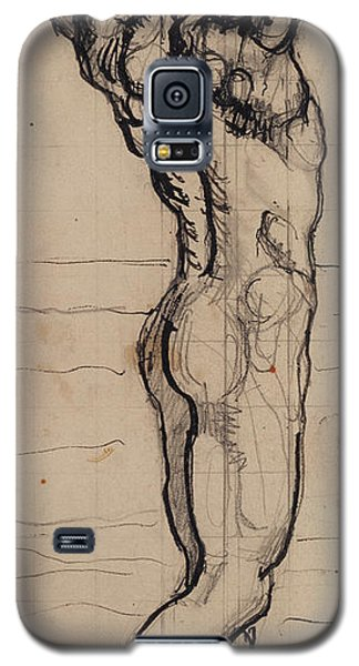 Nudes Galaxy S5 Case - Male Act   Study For The Truth by Ferdninand Hodler
