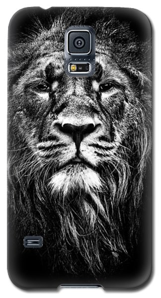 Male Asiatic Lion Galaxy S5 Case