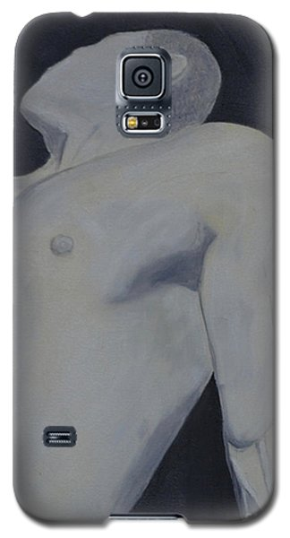 Male Black And White Galaxy S5 Case by Lori Jacobus-Crawford