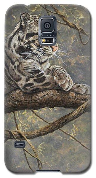 Male Clouded Leopard Galaxy S5 Case