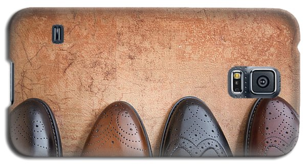 Galaxy S5 Case featuring the photograph Male Shoes by Andrey  Godyaykin