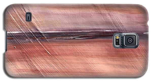Malibu #32 Seascape Landscape Original Fine Art Acrylic On Canvas Galaxy S5 Case