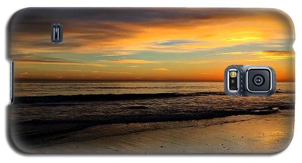 Malibu Beach Sunset Galaxy S5 Case by Chris Tarpening