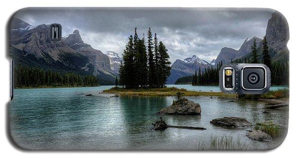 Maligne Lake Spirit Island Jasper National Park Alberta Canada Galaxy S5 Case