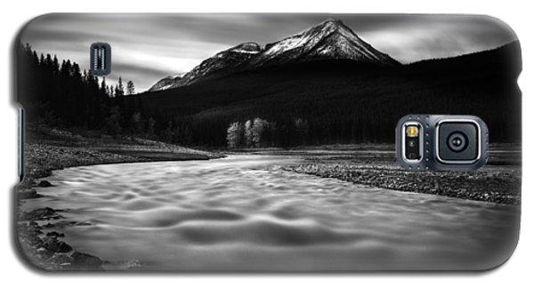 Maligne River Autumn Galaxy S5 Case by Dan Jurak