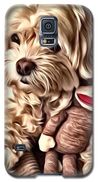 Maltipoo Love Galaxy S5 Case