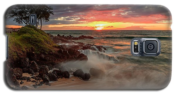 Maluaka Beach Sunset Galaxy S5 Case