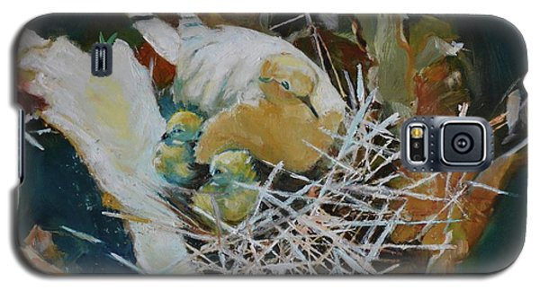 Mama And Babies Galaxy S5 Case by Julie Todd-Cundiff