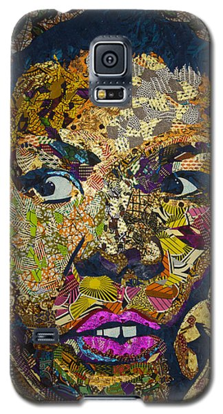 Galaxy S5 Case featuring the tapestry - textile Mama's Watching by Apanaki Temitayo M