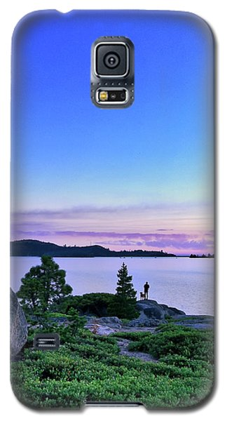 Man And Dog Galaxy S5 Case