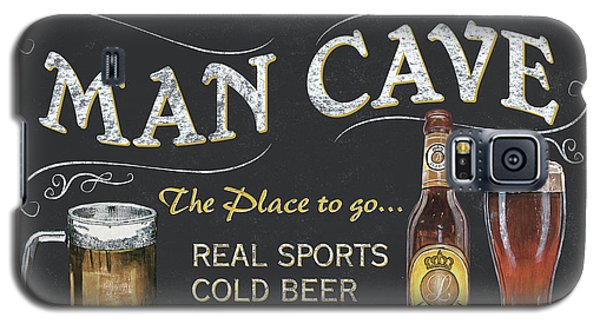 Man Cave Chalkboard Sign Galaxy S5 Case