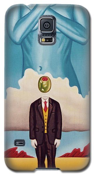 Man Dreaming Of Woman Galaxy S5 Case