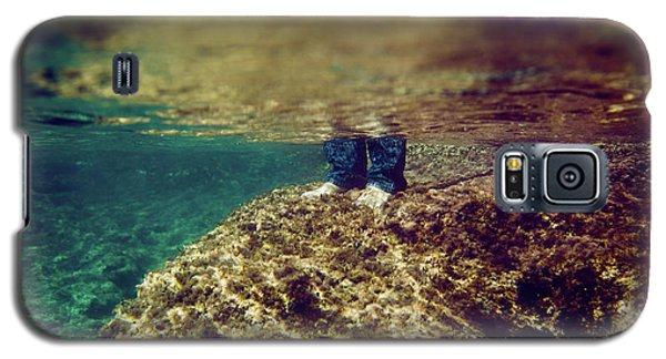 Man Feet Galaxy S5 Case