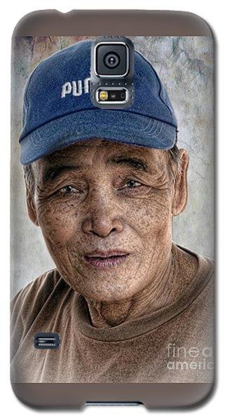 Man In The Cap Galaxy S5 Case