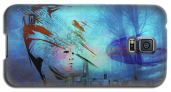 Man Is Art Galaxy S5 Case