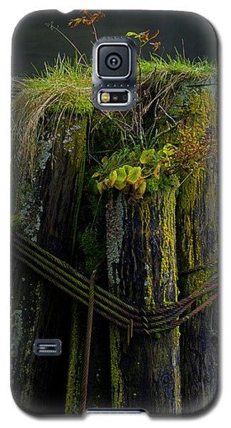 Man Made Island-signed-#2127 Galaxy S5 Case