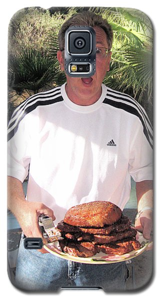 Man Who Barbecues Galaxy S5 Case
