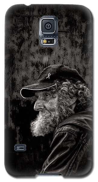 Man With A Beard Galaxy S5 Case by Bob Orsillo