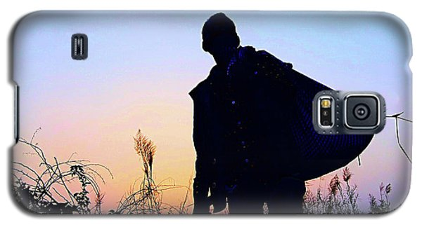 Man With Bag Galaxy S5 Case