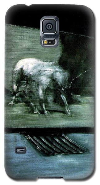Man With Dog  Galaxy S5 Case
