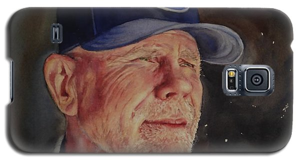 Man With Ford Cap Galaxy S5 Case