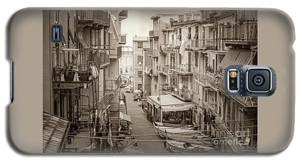 Manarola In Sepia Galaxy S5 Case