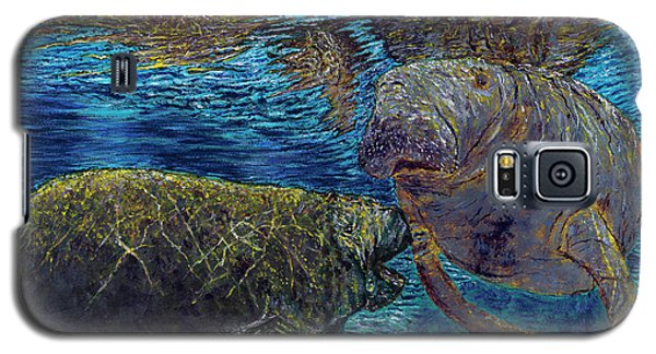 Manatee Motherhood Galaxy S5 Case